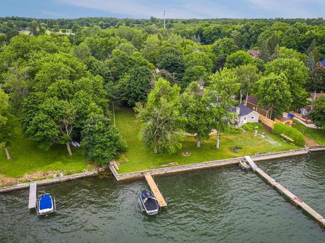 Terrain à vendre à Léry, Montérégie, Chemin du Lac-Saint-Louis, 11907621 - Centris.ca