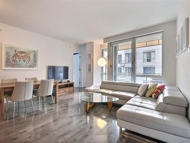 Condo / Apartment for rent in Montréal (Ville-Marie), Montréal (Island), 901, Rue de la Commune Est, apt. 518, 15883882 - Centris.ca