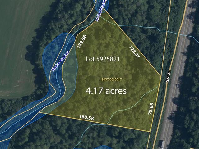 Terrain à vendre à Grenville-sur-la-Rouge, Laurentides, Chemin  Scotch, 23217824 - Centris.ca
