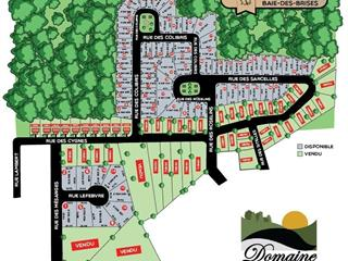 Lot for sale in Saint-Stanislas-de-Kostka, Montérégie, 62, Rue des Sarcelles, 15210496 - Centris.ca