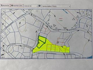 Terrain à vendre à Sainte-Adèle, Laurentides, Rue des Souchets, 23634602 - Centris.ca