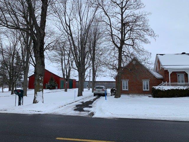 Fermette à vendre à Henryville, Montérégie, 568Z, Rang  Bord-de-l'Eau, 15867602 - Centris.ca