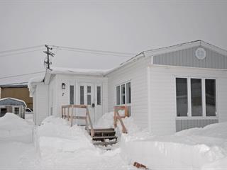 Maison mobile à vendre à Port-Cartier, Côte-Nord, 7, Rue  Delaunière, 24000639 - Centris.ca