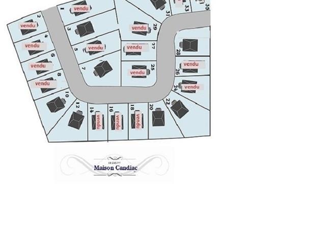 Terrain à vendre à Candiac, Montérégie, 31, Rue de Dieppe, 28623033 - Centris.ca