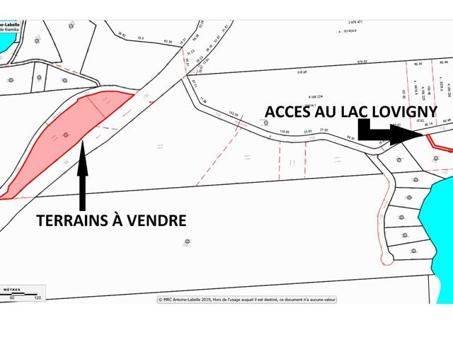 Terrain à vendre à Kiamika, Laurentides, Chemin  Valiquette, 11414016 - Centris.ca