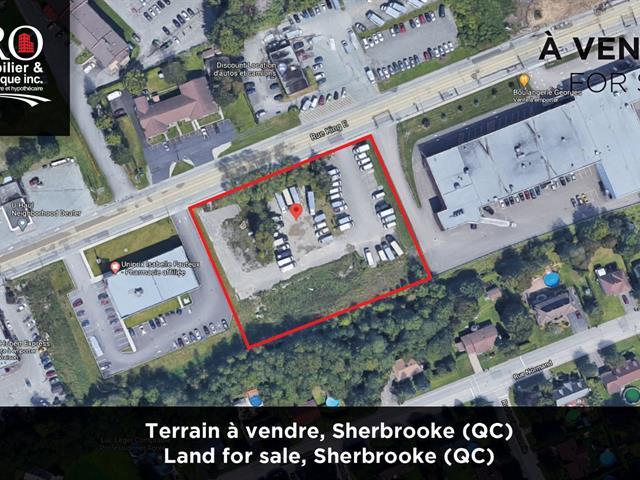 Lot for sale in Sherbrooke (Fleurimont), Estrie, Rue  King Est, 11911064 - Centris.ca