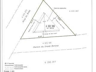 Lot for sale in Pont-Rouge, Capitale-Nationale, Chemin du Grand-Remous, 15979803 - Centris.ca