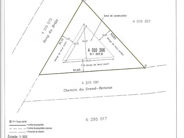 Terrain à vendre à Pont-Rouge, Capitale-Nationale, Chemin du Grand-Remous, 15979803 - Centris.ca