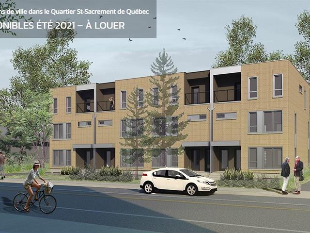 Condo / Apartment for rent in Québec (La Cité-Limoilou), Capitale-Nationale, 1103, Rue  Raymond-Casgrain, 9091061 - Centris.ca