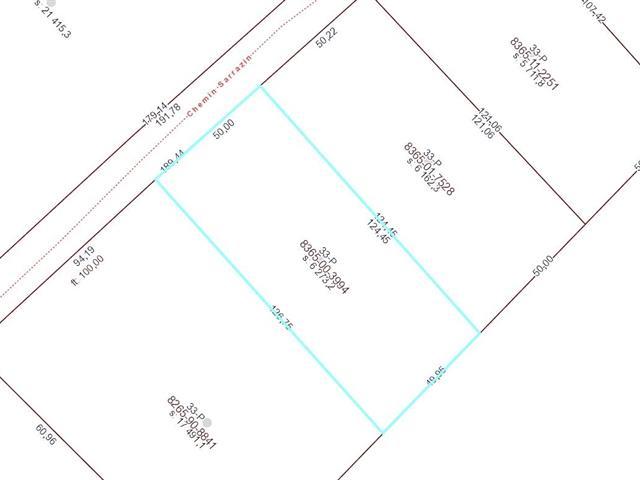 Terrain à vendre à Saint-Zénon, Lanaudière, Chemin  Sarrazin, 12142332 - Centris.ca