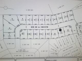 Terrain à vendre à Lévis (Les Chutes-de-la-Chaudière-Est), Chaudière-Appalaches, 1163, Rue de la Chicouté, 12387771 - Centris.ca