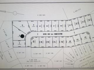 Lot for sale in Lévis (Les Chutes-de-la-Chaudière-Est), Chaudière-Appalaches, 1196, Rue de la Chicouté, 24551461 - Centris.ca