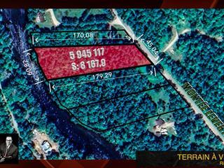 Lot for sale in Ripon, Outaouais, Montée  Levert, 23400234 - Centris.ca