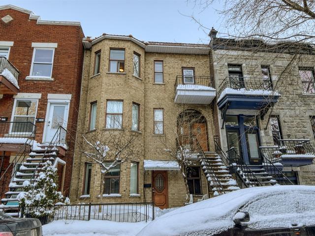 Triplex à vendre à Montréal (Le Plateau-Mont-Royal), Montréal (Île), 4033 - 4037, Rue  Cartier, 23682187 - Centris.ca