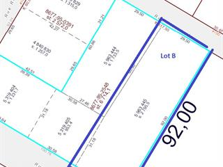 Lot for sale in Fort-Coulonge, Outaouais, 0B, Rue  Principale, 17887963 - Centris.ca
