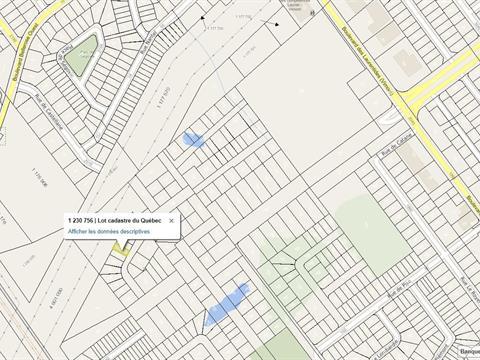 Terrain à vendre à Vimont (Laval), Laval, Rue de Renaix, 12349592 - Centris.ca