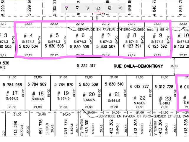 Terrain à vendre à Shawinigan, Mauricie, Rue  Ovila-Demontigny, 26474286 - Centris.ca