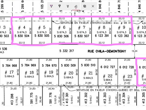 Lot for sale in Shawinigan, Mauricie, Rue  Ovila-Demontigny, 11103365 - Centris.ca