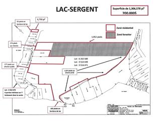 Lot for sale in Lac-Sergent, Capitale-Nationale, Chemin de la Montagne, 12788269 - Centris.ca