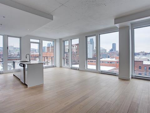 Condo / Apartment for rent in Le Sud-Ouest (Montréal), Montréal (Island), 400, Rue  Richmond, apt. 503A, 22194705 - Centris.ca