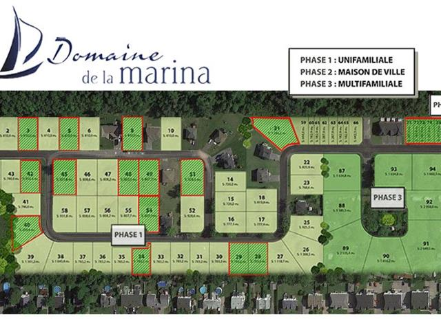 Lot for sale in Saint-Zotique, Montérégie, 254, Rue des Voiliers, 17173367 - Centris.ca