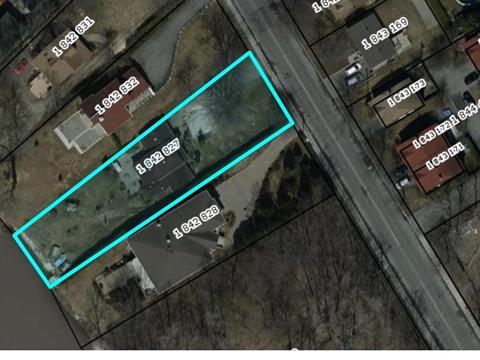 Lot for sale in Pierrefonds-Roxboro (Montréal), Montréal (Island), 546, Chemin de la Rive-Boisée, 13722087 - Centris.ca