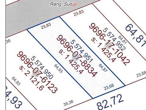 Terre à vendre à Saint-Pierre-de-la-Rivière-du-Sud, Chaudière-Appalaches, Rang du Coteau Sud, 14458130 - Centris.ca