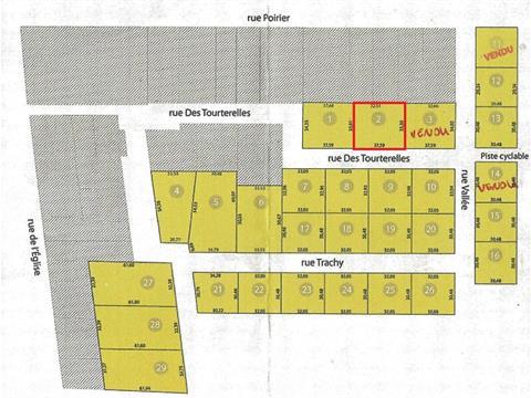 Lot for sale in Thetford Mines, Chaudière-Appalaches, des Tourterelles, 23861564 - Centris.ca