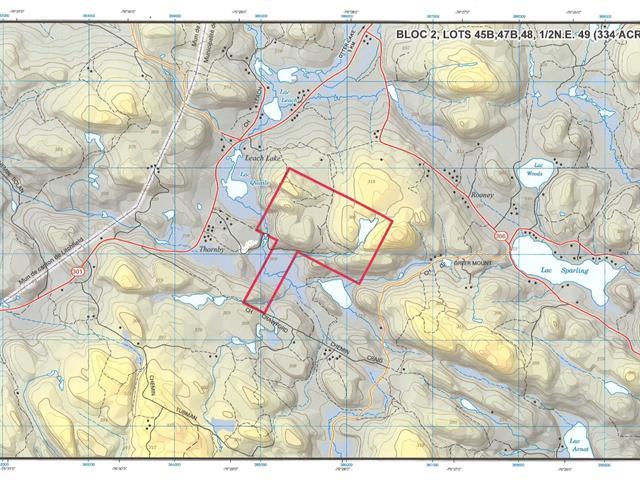 Terre à vendre à Thorne, Outaouais, Route  366, 17345202 - Centris.ca
