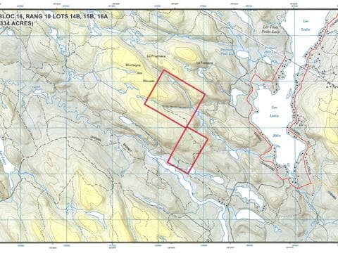 Land for sale in Litchfield, Outaouais, Rang 10, 28709187 - Centris.ca