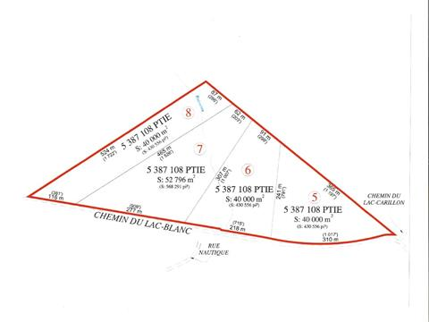 Land for sale in Saint-Ubalde, Capitale-Nationale, Chemin du Lac-Blanc, 15034367 - Centris.ca