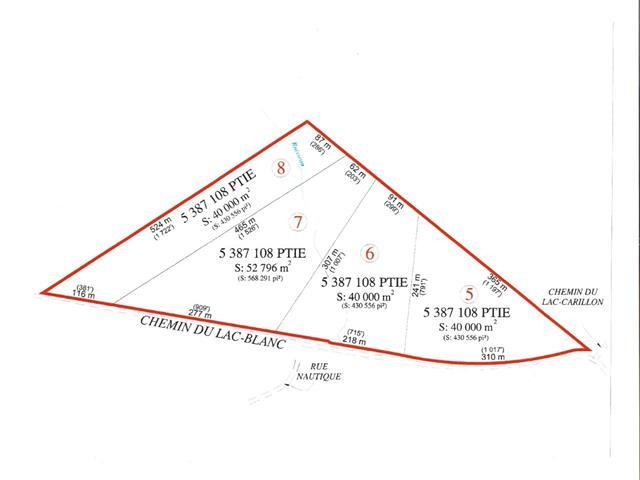 Land for sale in Saint-Ubalde, Capitale-Nationale, Chemin du Lac-Blanc, 25527771 - Centris.ca