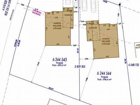 Terrain à vendre à Beauport (Québec), Capitale-Nationale, Rue de l'Avrillet, 23743542 - Centris.ca