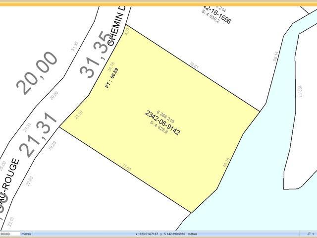 Lot for sale in Saint-Didace, Lanaudière, Chemin du Lac-Rouge, 27503476 - Centris.ca