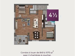 Condo / Appartement à louer à Mascouche, Lanaudière, 1, Rue  Sicard, app. 401, 11471601 - Centris.ca