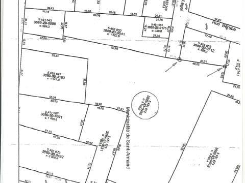 Lot for sale in Saint-Armand, Montérégie, Rue  Allan, 17618410 - Centris.ca