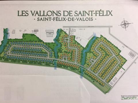 Lot for sale in Saint-Félix-de-Valois, Lanaudière, Place des Jardins, 26212115 - Centris.ca