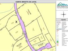 Terrain à vendre à Sainte-Brigitte-de-Laval, Capitale-Nationale, 165, Rue  Labranche, 11187907 - Centris