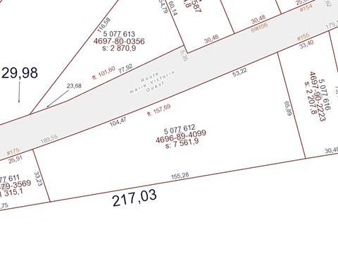 Lot for sale in Yamaska, Montérégie, Route  Marie-Victorin Ouest, 25028333 - Centris.ca