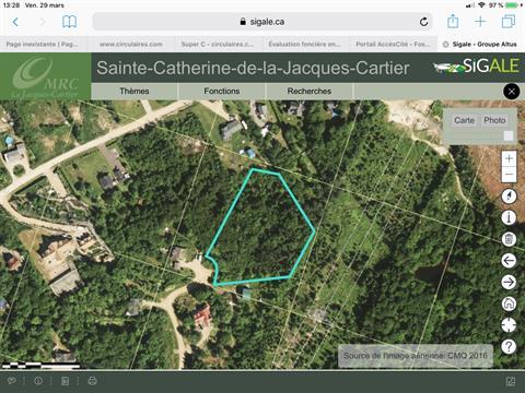 Terrain à vendre à Sainte-Catherine-de-la-Jacques-Cartier, Capitale-Nationale, Rue de la Source, 18488881 - Centris.ca