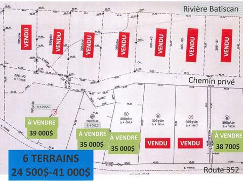 Terrain à vendre à Saint-Adelphe, Mauricie, Route  352, 20027906 - Centris