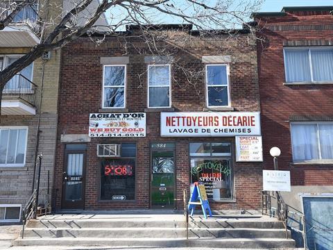 Commerce à vendre à Côte-des-Neiges/Notre-Dame-de-Grâce (Montréal), Montréal (Île), 5840, boulevard  Décarie, 17079074 - Centris.ca