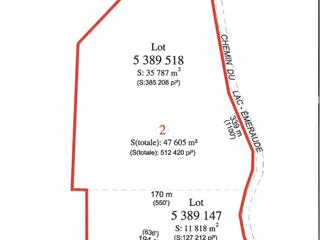 Land for sale in Saint-Ubalde, Capitale-Nationale, 2250A, Chemin du Lac-Blanc, 21960487 - Centris.ca