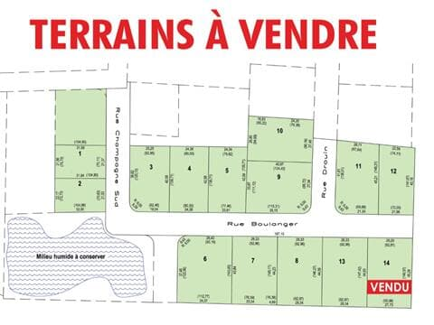 Lot for sale in Saint-Honoré-de-Shenley, Chaudière-Appalaches, Rue  Boulanger, 22230560 - Centris.ca