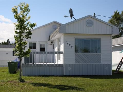 Mobile home for sale in Baie-Comeau, Côte-Nord, 1489, Rue  La Brosse, 22613290 - Centris.ca