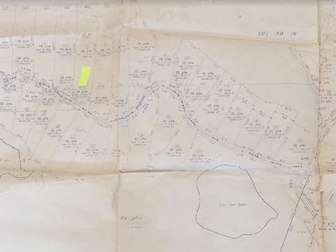 Terrain à vendre à Val-des-Lacs, Laurentides, Chemin  Autoré, 15602012 - Centris.ca