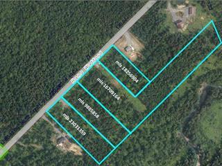 Terrain à vendre à Saint-Benjamin, Chaudière-Appalaches, 7, Rang  Watford, 9885858 - Centris.ca