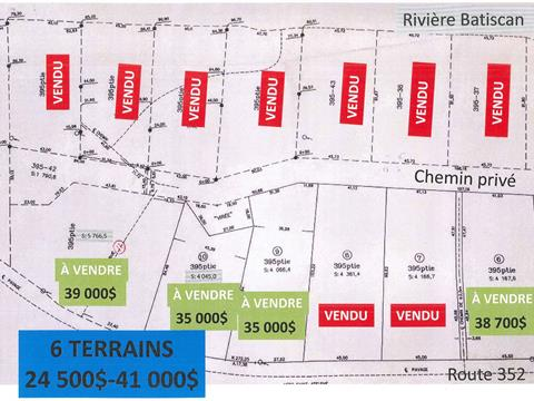 Lot for sale in Saint-Adelphe, Mauricie, Route  352, 10359435 - Centris