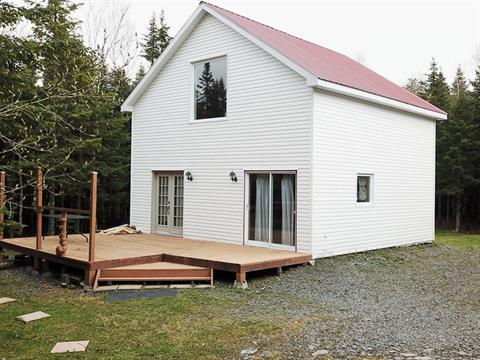 Cottage for sale in Saint-Zacharie, Chaudière-Appalaches, 424, Rang 6-D Lac-Falardeau, 12599832 - Centris.ca
