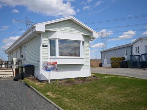 Mobile home for sale in Desjardins (Lévis), Chaudière-Appalaches, 3950, Rue des Sureaux, 22225172 - Centris.ca